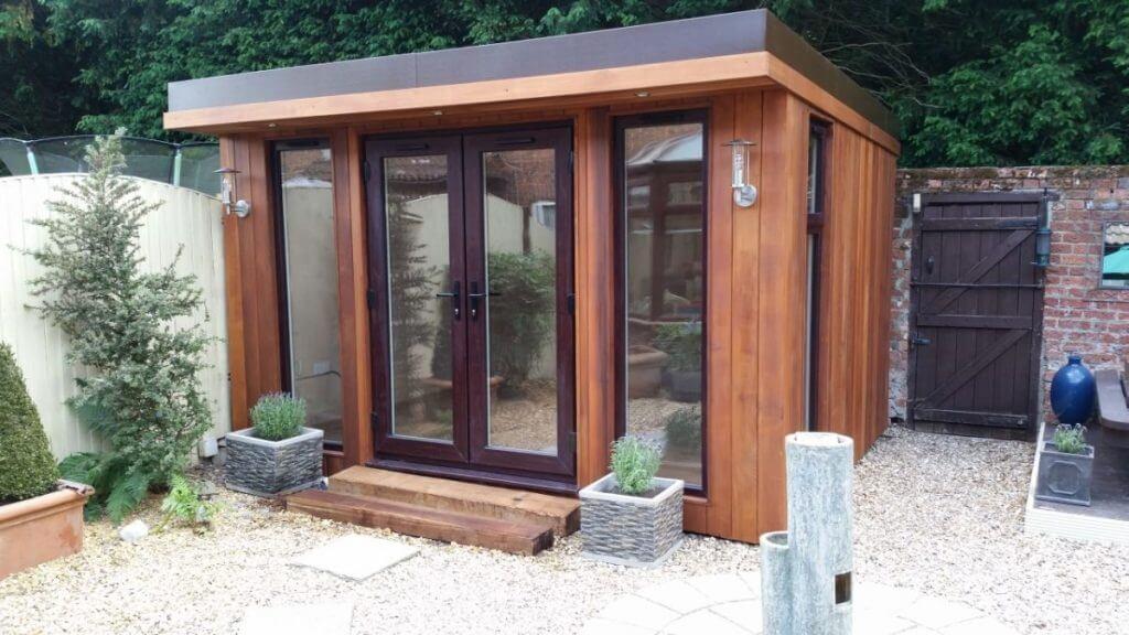 Bespoke Garden Room Build Ian Bridge Timber Garden Rooms