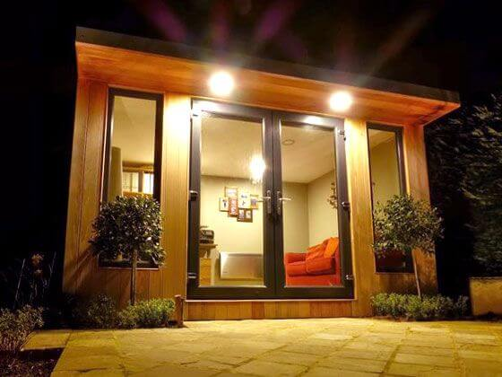 Ken jennings garden room bridge timber garden rooms for Garden rooms halifax