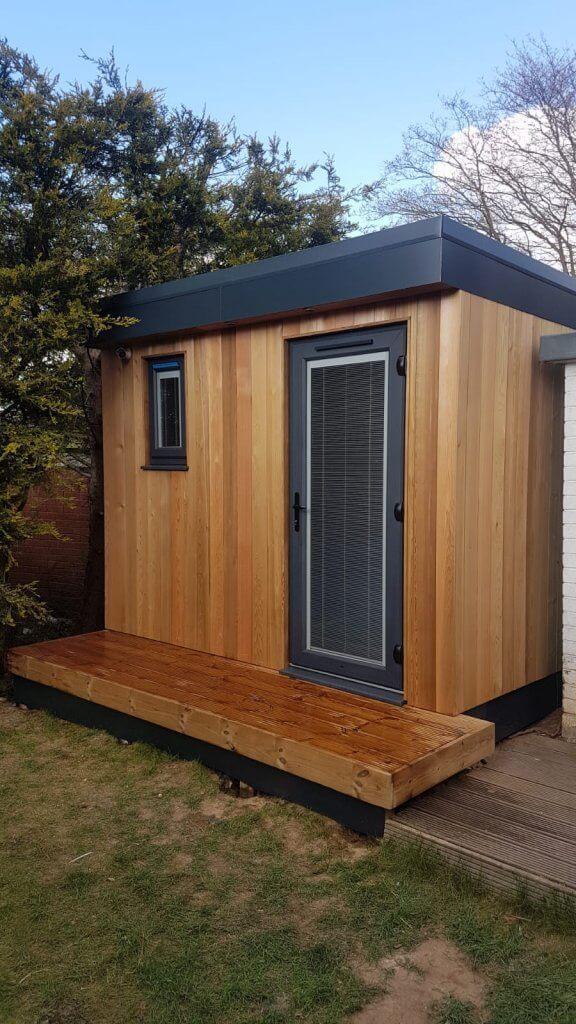 Garden Pod Case Study 2019 Bridge Timber Garden Rooms